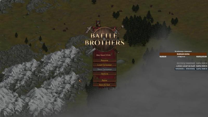 Battle Brothers прохождение ironman 3 грабь награбленное