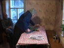 Как гладили белье в деревне (разглаживание рубелем )