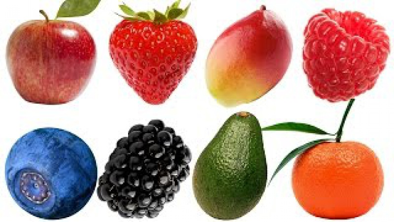 Learn names of Fruits and Vegetables in English Learn English for Kids Children Compilation (Part 7)