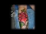 Процесс нанесения татуировки от мастера Ivan Grozny