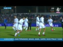 Real Madrid warm up at Fuenlabrada