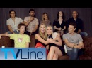 The Gifted Cast Interview Comic Con 2017 TVLine
