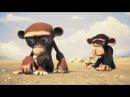 Мультик про смешную обезьяну для детей и взрослых