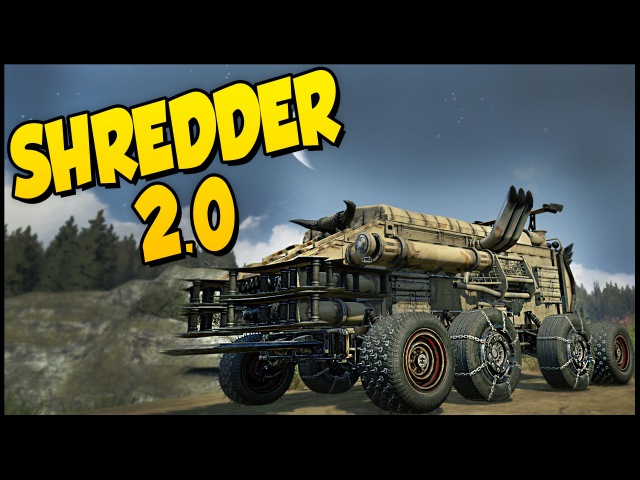 Crossout ➤ Shredder 2.0! - Cricket Launcher Buggy Build [Crossout Gameplay]