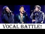Vocal Battle! Adam Lambert VS Alex Newell VS Dimash Kudaibergen (A4-B5)