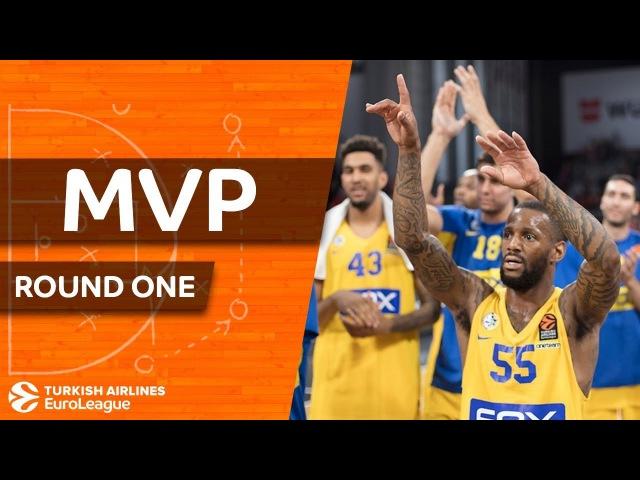 Turkish Airlines EuroLeague Regular Season Round 1 MVP: Pierre Jackson, Maccabi FOX Tel Aviv