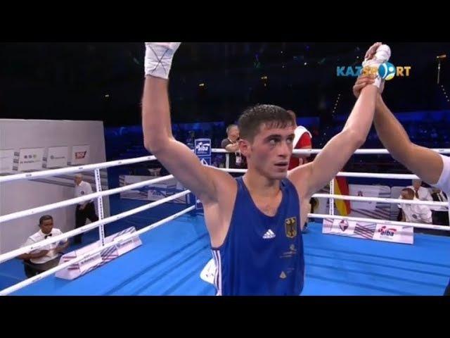 Boxing. Gabil Mamedov (RUS) vs Murat Yildirim (GER) 60 kg. Hamburg 2017