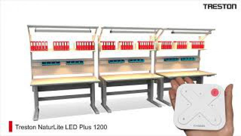 Натуральное освещение рабочих мест Treston LED светодиодные лампы