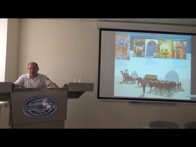 «Татарская исламская архитектура: традиции и современность». Лекция Нияза Халитова