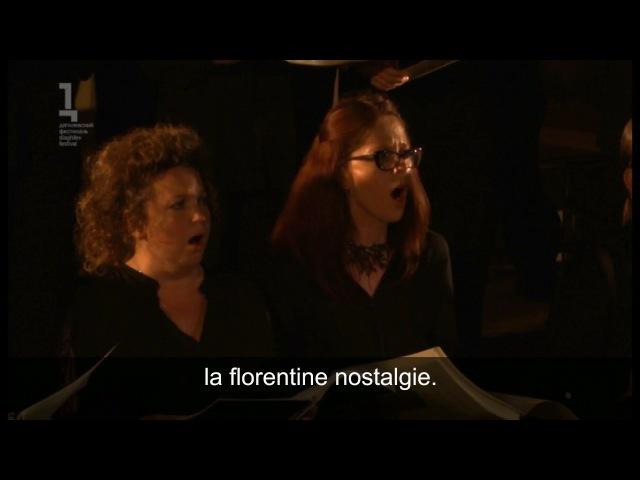 Philippe Hersant Tristia extrait n°36 Je suis perdu dans le ciel