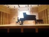 Franciszek Szymula (9 lat) Henri Ravina Etude Op. 50, No 22 &amp Gabriel Yared - Nocturne (L'Amant)