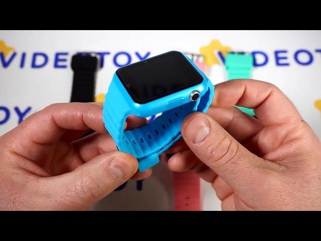 GPS часы Smart Watch V7K X10. Smartwatch часы GPS детские с GPS трекером Smart Baby Watch Plus 0