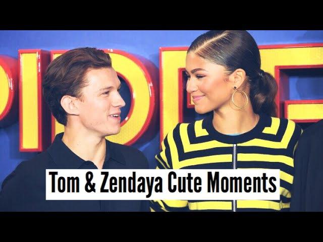 Tom Holland Zendaya | Cute Moments