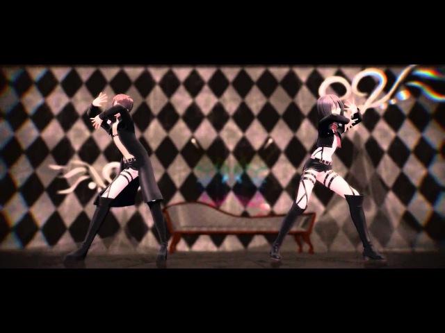 【MMD Attack on Titan】~Eren Mikasa~ Gishinanki » Freewka.com - Смотреть онлайн в хорощем качестве