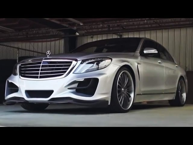 Lorinser Mercedes-Benz S550 on 22
