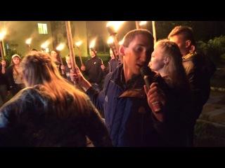 27 августа Факельное шествие фейерверк клип