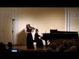 Елизавета Кононенко - М.Брух - Концерт для скрипки с оркестром №2, I часть