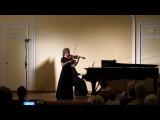 Анастасия Алимова - В.А.Моцарт - Концерт для скрипки с оркестром №4, II III части