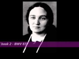 Maria Yudina plays Bach Preludes and Fugues Well Tempered Clavier WTC 2 BWV 877 (1953-57)