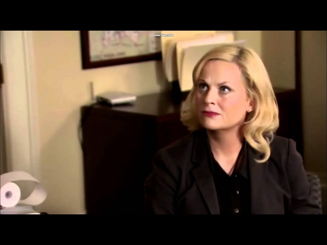 Parks and Recreation- My goal is to run to the moon
