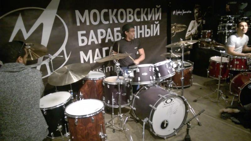 Латино-ритмическое безумие в нашем барабанном зале!)