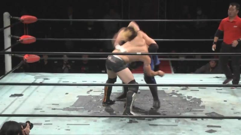 Okami Daichi Hashimoto Hideyoshi Kamitani vs Kazumi Kikuta Yoshihisa Uto BJW 08 11 2017