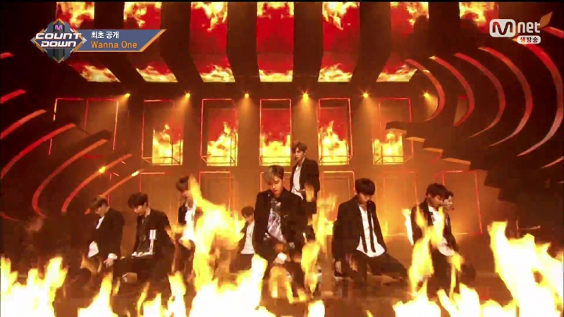 Debut Stage 070810 Wanna One Burn It Up @ M Countdown EP 036