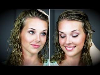 Очень простой ежедневный макияж на лето / Everyday makeup tutorial