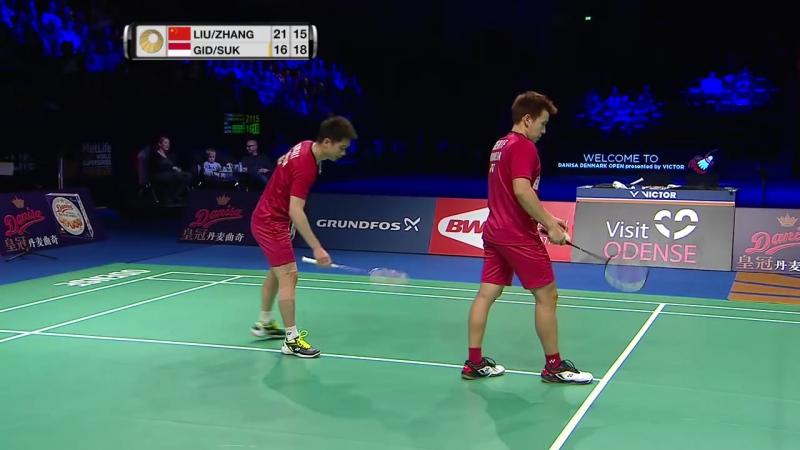 Danisa Denmark Open 2017 - Final MD - Liu-Zhang vs Gid-Suk