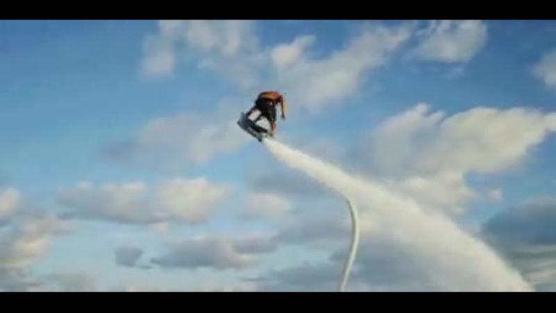 Полет на ховерборде 😎