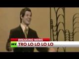 В США спародировали прерывание телевещания песней Эдуарда Хиля