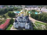 Город Дмитров. Московская область. Вид сверху. 2160P - 4K ( 2026 X 3840 ) webm 4K