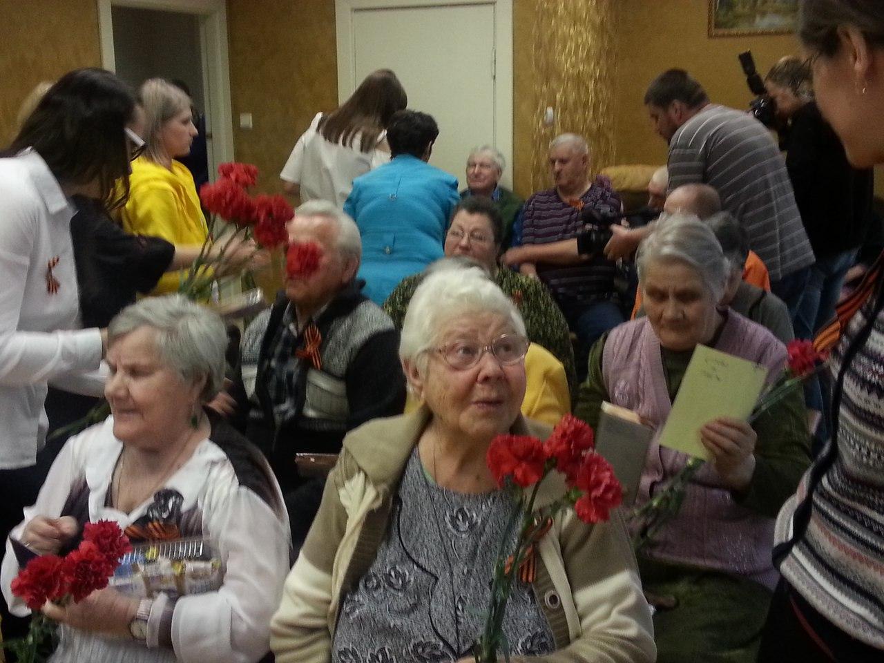 Территория добра ездила в Выксунский дом престарелых
