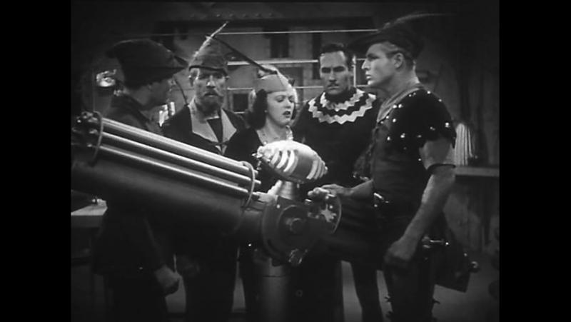 Флэш Гордон покоряет Вселенную (1940) Ep 07 - The Land of the Dead