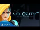 Velocity 2X Critical Mass Edition Launch Trailer  PS4