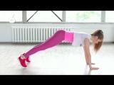 Как похудеть без тренажеров Интервальная тренировка в домашних условиях [Workout  Будь в форме]