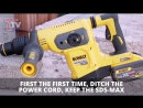 DeWALT DCH481 54v Cordless Brushless SDS-MAX Rotary Hammer - FIRST LOOK