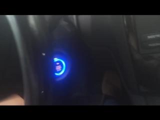 Кнопка запуска авто.