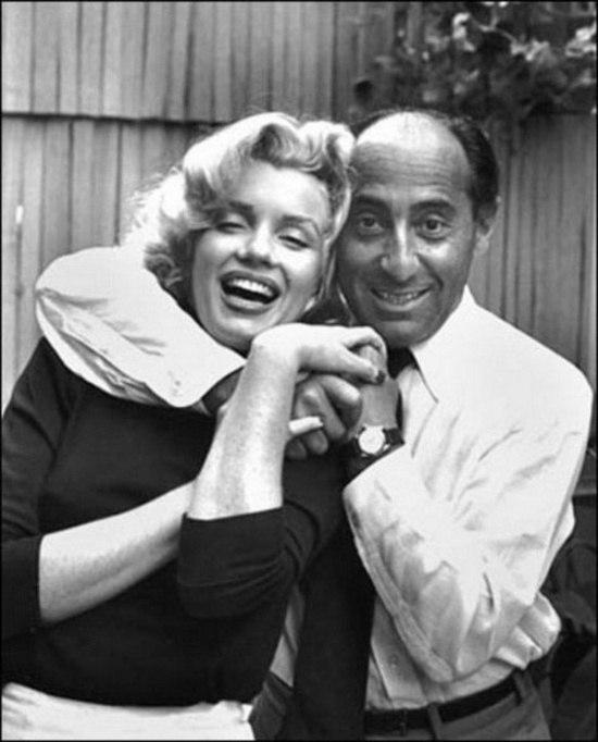 Мерилин Монро и Альфред Эйзенштадт, 1953