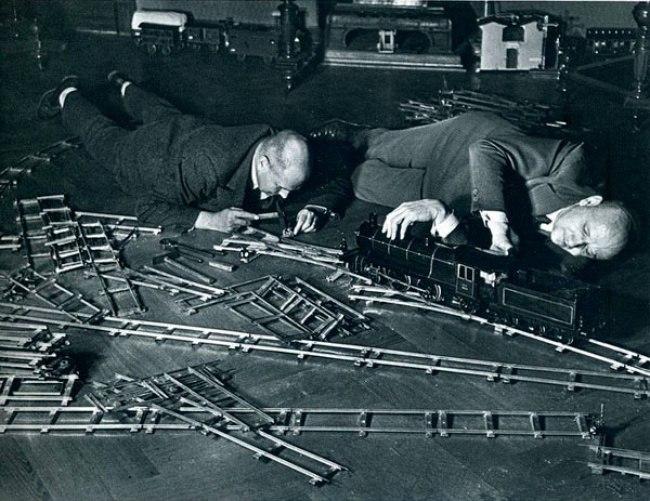 Клуб любителей игрушечных поездов, 1931