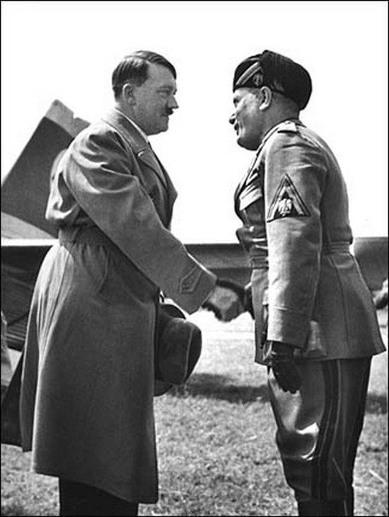 Первая встреча Адольфа Гитлера и Бенито Муссолини, 1934