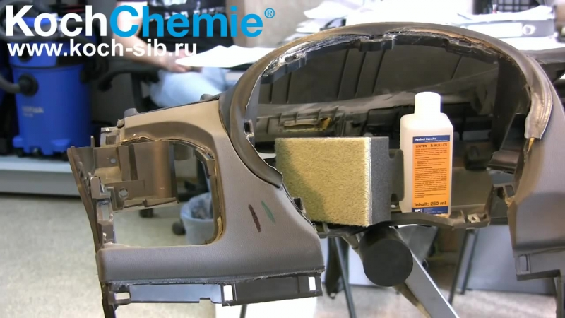 Koch Chemie - как удалить перманентный маркер с пластика