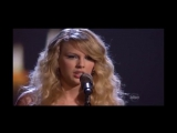 Taylor Swift - White Horse (Live at AMAs 2008)