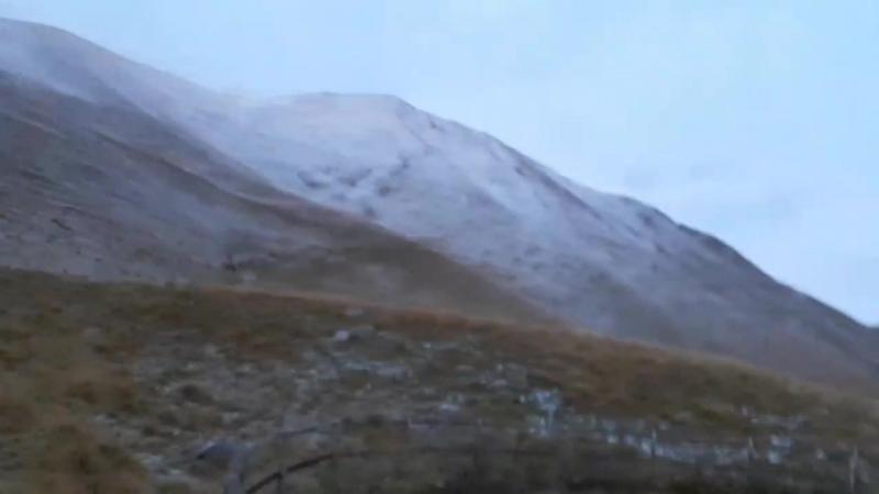 Вид с горы Pra De luni, на высоте 1535м.