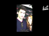 @MatthewDaddario and @Kat_McNamara were live on SHTV's instagram! | RUS SUB | HS
