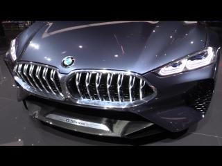 ЛУЧШИЕ КОНЦЕПТЫ ФРАНКФУРТА 2017_BMW 8_MAYBACH 6 CABRIOLET_CHERY TIGGO_AUDI ELAIN