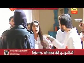 Ishqbaaz _ Shivaay-Anika ,Om-Gauri and Rudra Surrounded by Goons in Mansion _ Saas Bahu aur Saazish