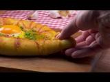 Хачапури С Мясом В Духовке- Самый Быстрый и Простой Рецепт