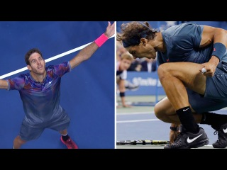 Nadal Vs. Del Potro - 10 Minutes of Animalistic Rallies (HD)