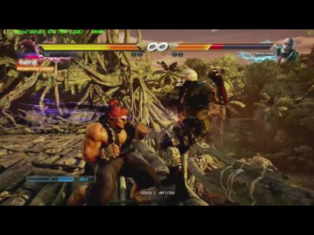 Tekken 7- GTX 760 (2GB) - 1080p-Ultra